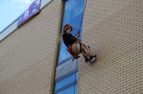 Solihull College Student Abseil 2016
